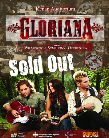 Gloriana Concert and the Wilmington Symphony Orchestra together live for one night at the Kenan Auditorium.